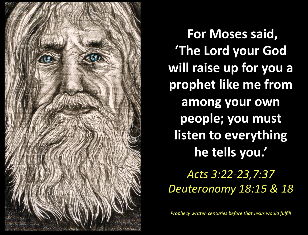 Moses God Face2face